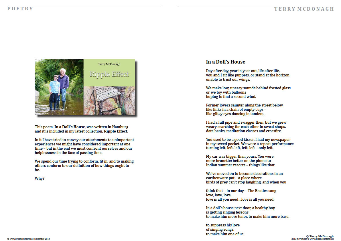 Terry McDonagh LE Mag November 2013