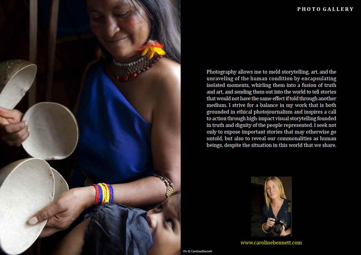 Caroline Bennett LE Mag January 2012