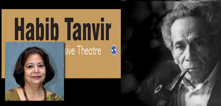 Profile Anjum Katyal author of Habib Tanvir: Towards an Inclusive theatre (Published by Sage Publications) in an exclusive interview with Mark Ulyseas