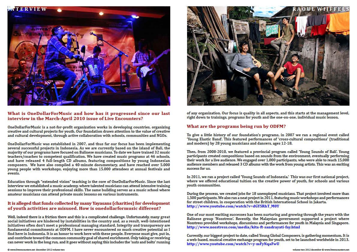 02 Raoul one dollar LE Mag Vol two Dec 2012