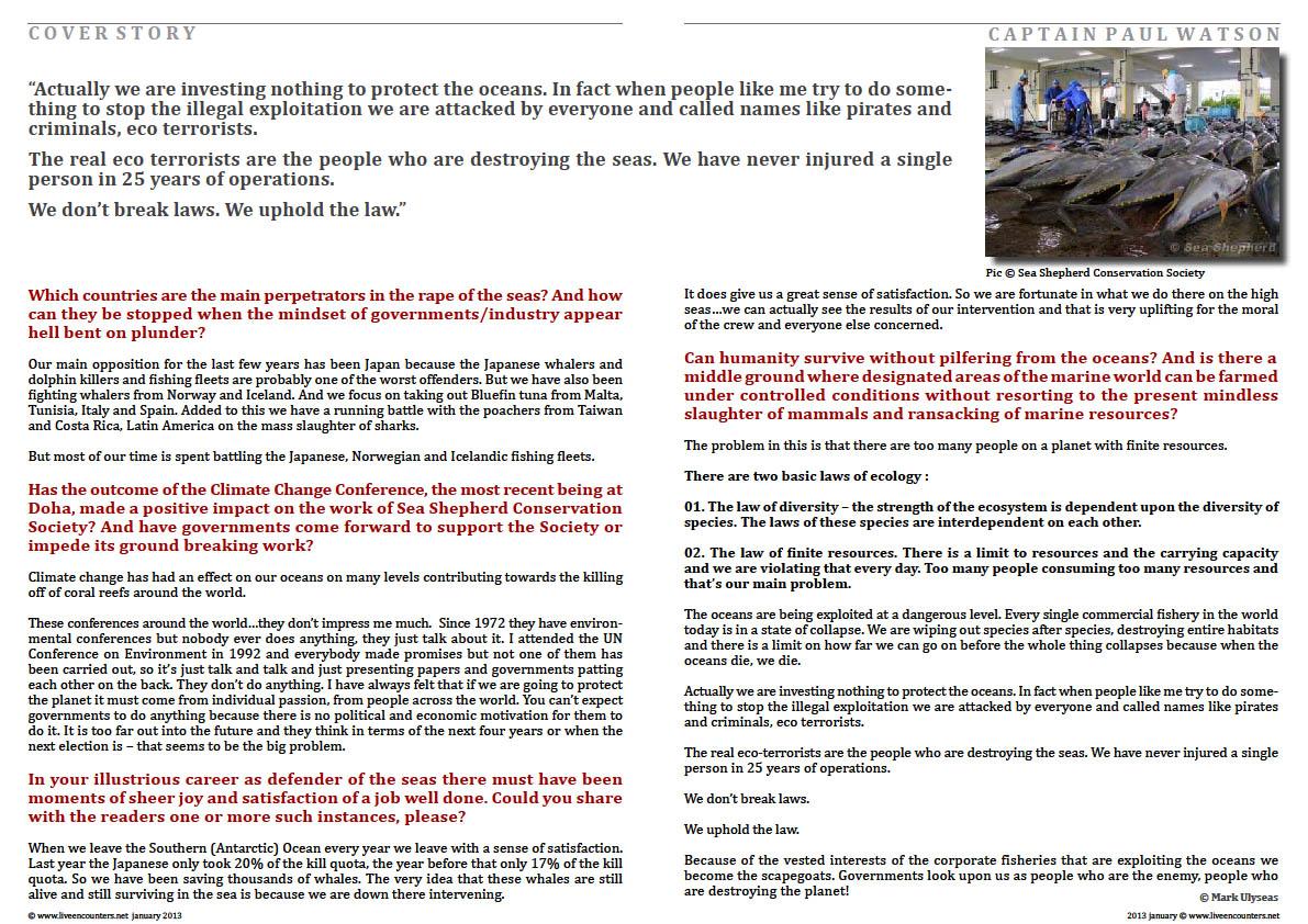 06 Captain Paul Watson LE Mag January 2013
