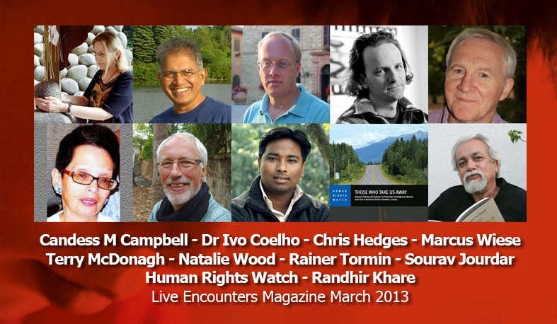 Live Encounters Magazine March 2013