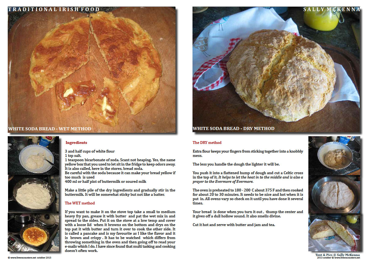 Sally McKenna's Journey home to traditional Irish Cooking - Page 01