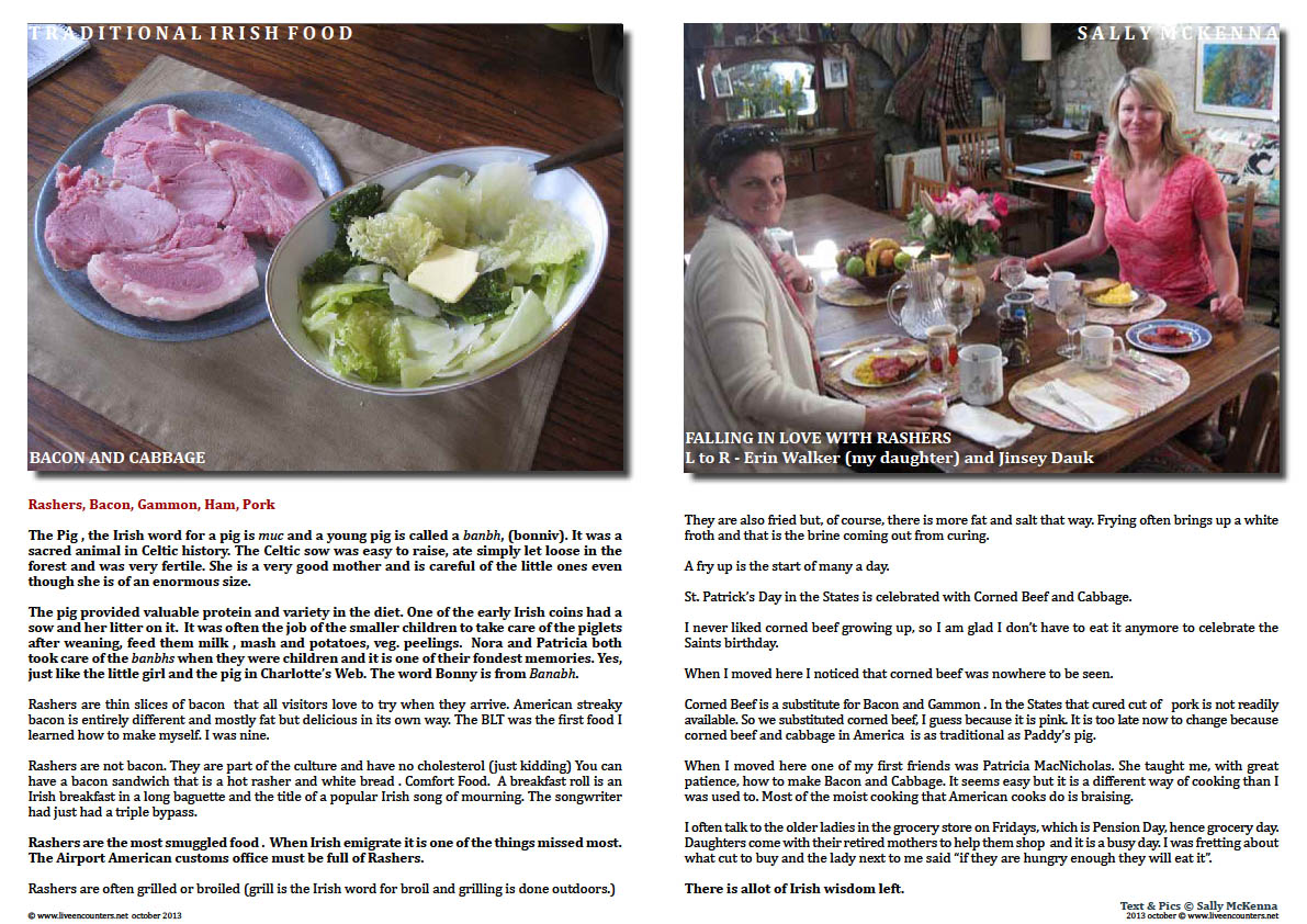 Sally McKenna's Journey home to traditional Irish Cooking - Page 06