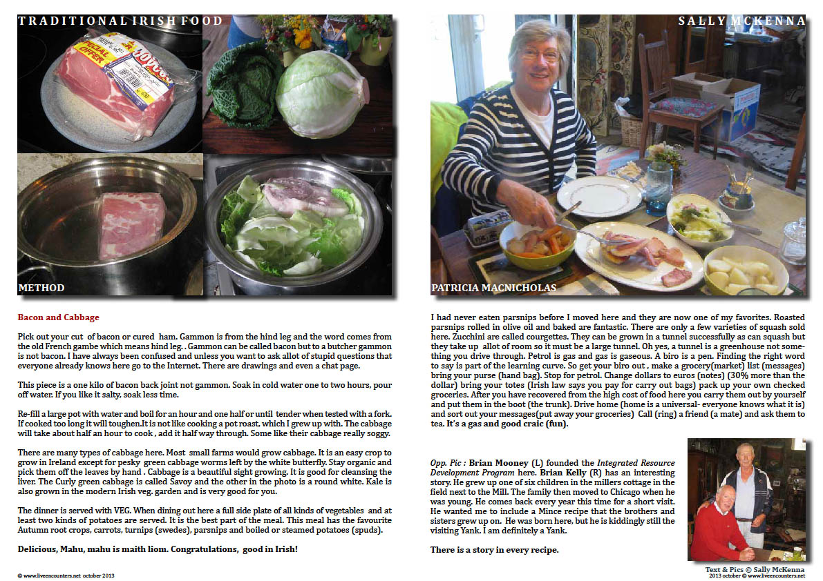 Sally McKenna's Journey home to traditional Irish Cooking - Page 07