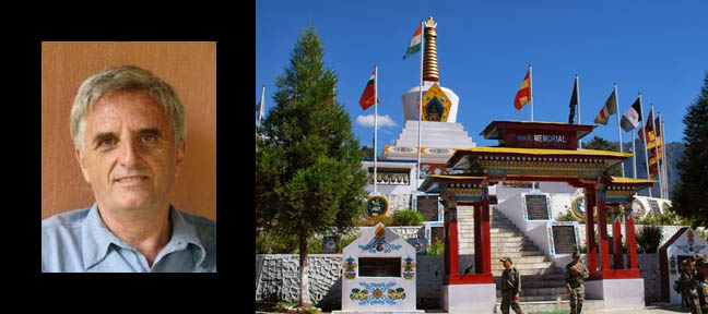 Claude Arpi, The War Memorial in Tawang (Arunachal Pradesh). Photographs courtesy Claude Arpi