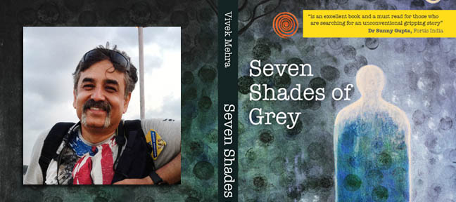 Vivek Mehra Author of Seven Shades of Grey  in an exclusive interview with Mark Ulyseas