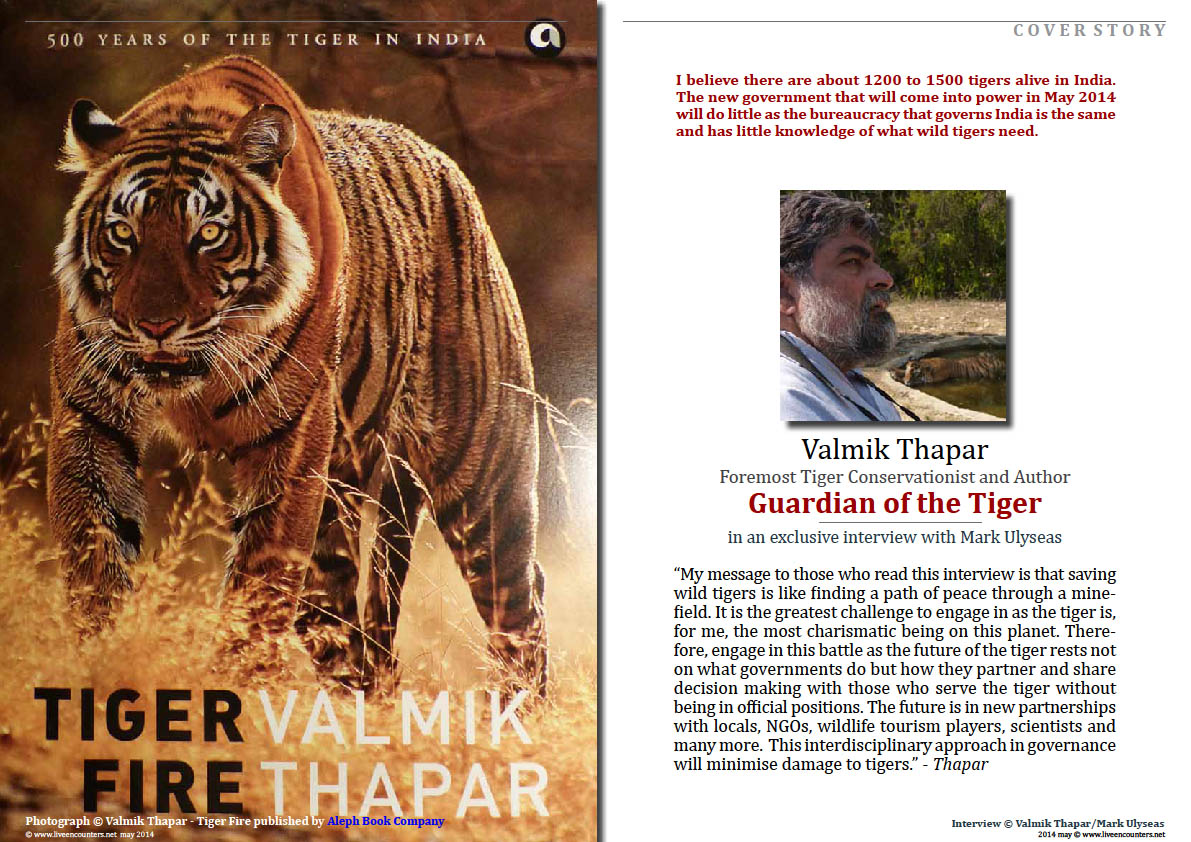 Valmik Thapar Guardian of the Tiger - Page 01