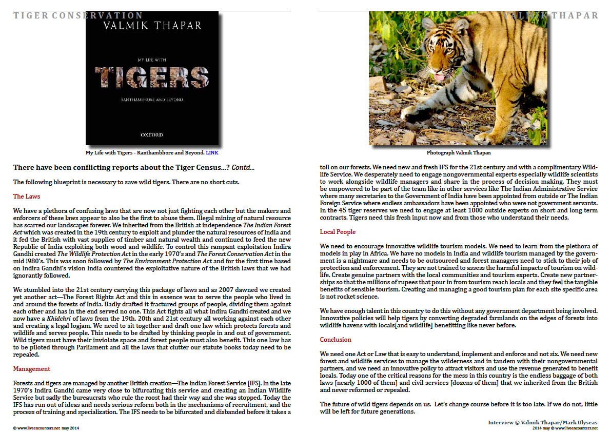Valmik Thapar Guardian of the Tiger - Page 07