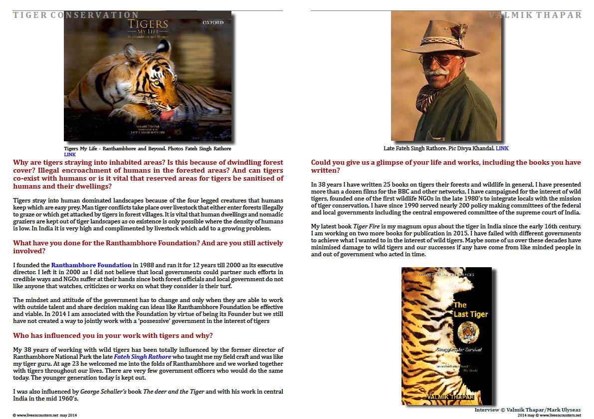 Valmik Thapar Guardian of the Tiger - Page 08