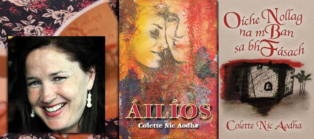 Colette Nic Aodha - Writing in Irish- Live Encounters Magazine June 2014