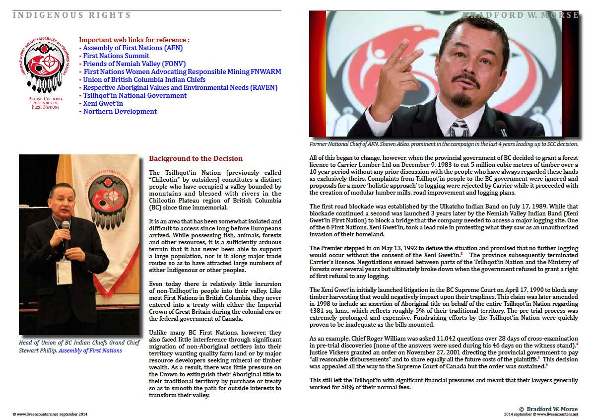 Professor Bradford W Morse - Tsilhqot'in - Page 02