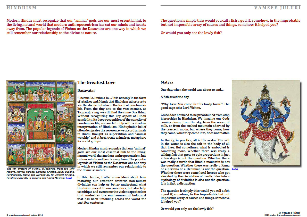 Page 02 Rearming Hinduism Professor Vamsee Juluri Live Encounters Magazine October 2014