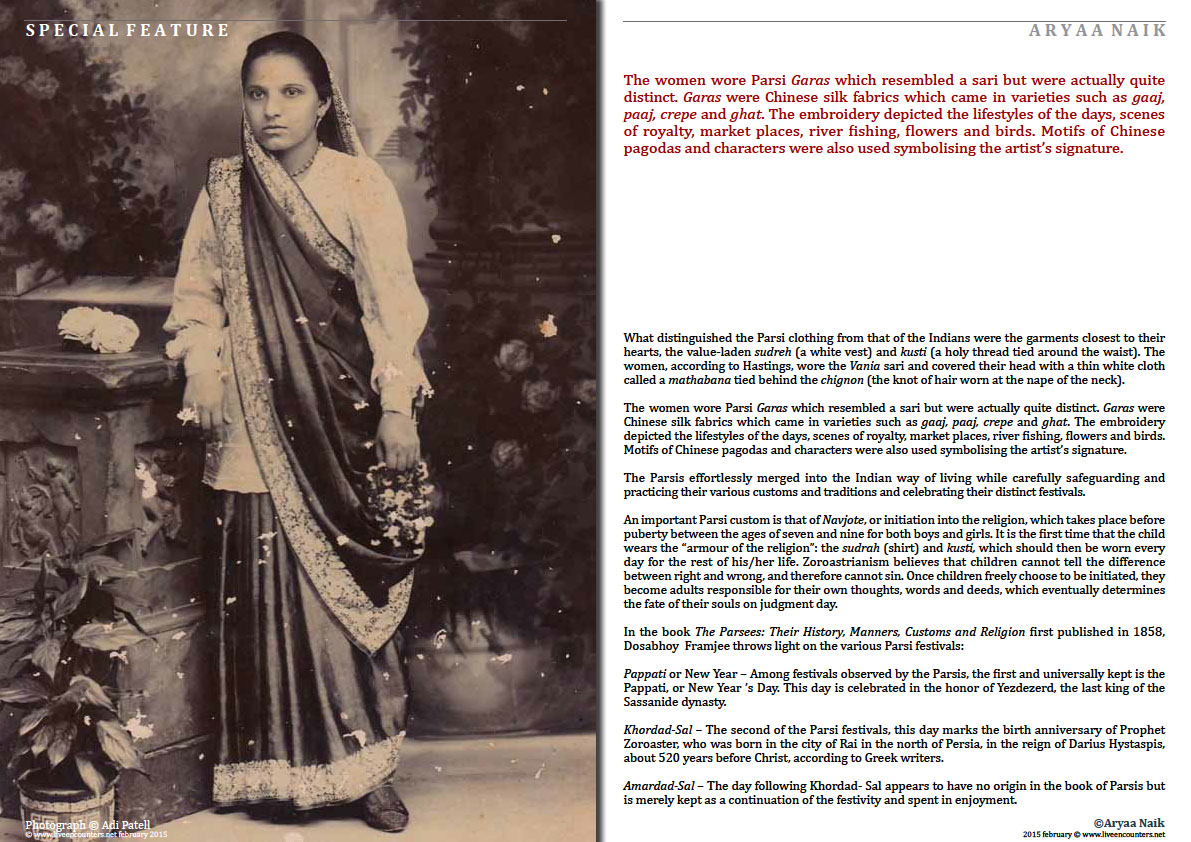 Page 3 People of the Good Faith - Brief history of the Parsis - Aryaa Naik