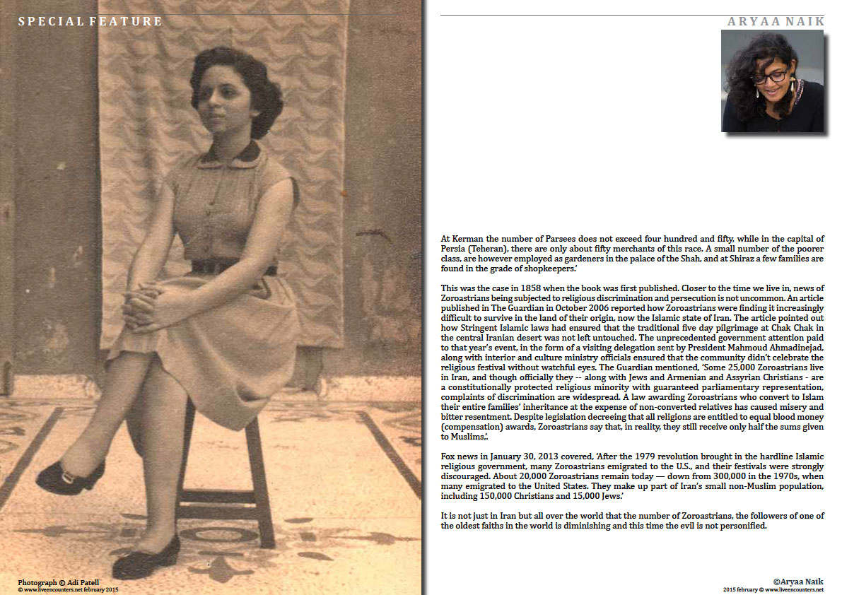 Page 5 People of the Good Faith - Brief history of the Parsis - Aryaa Naik