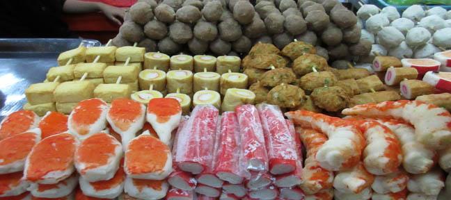 Street Food - Satay - Siem Reap, Cambodia - pic by Mark Ulyseas
