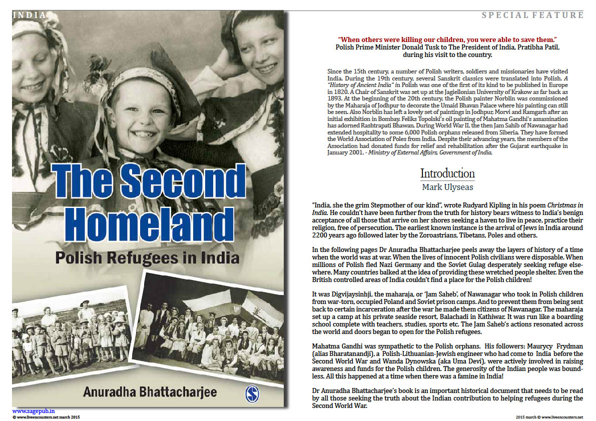 Dr Anuradha Bhattacharjee – The Second Homeland – Polish Refugees in India