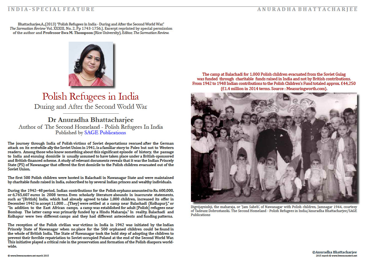 Page 2a Dr Anuradha Bhattacharjee Polish refugees in India