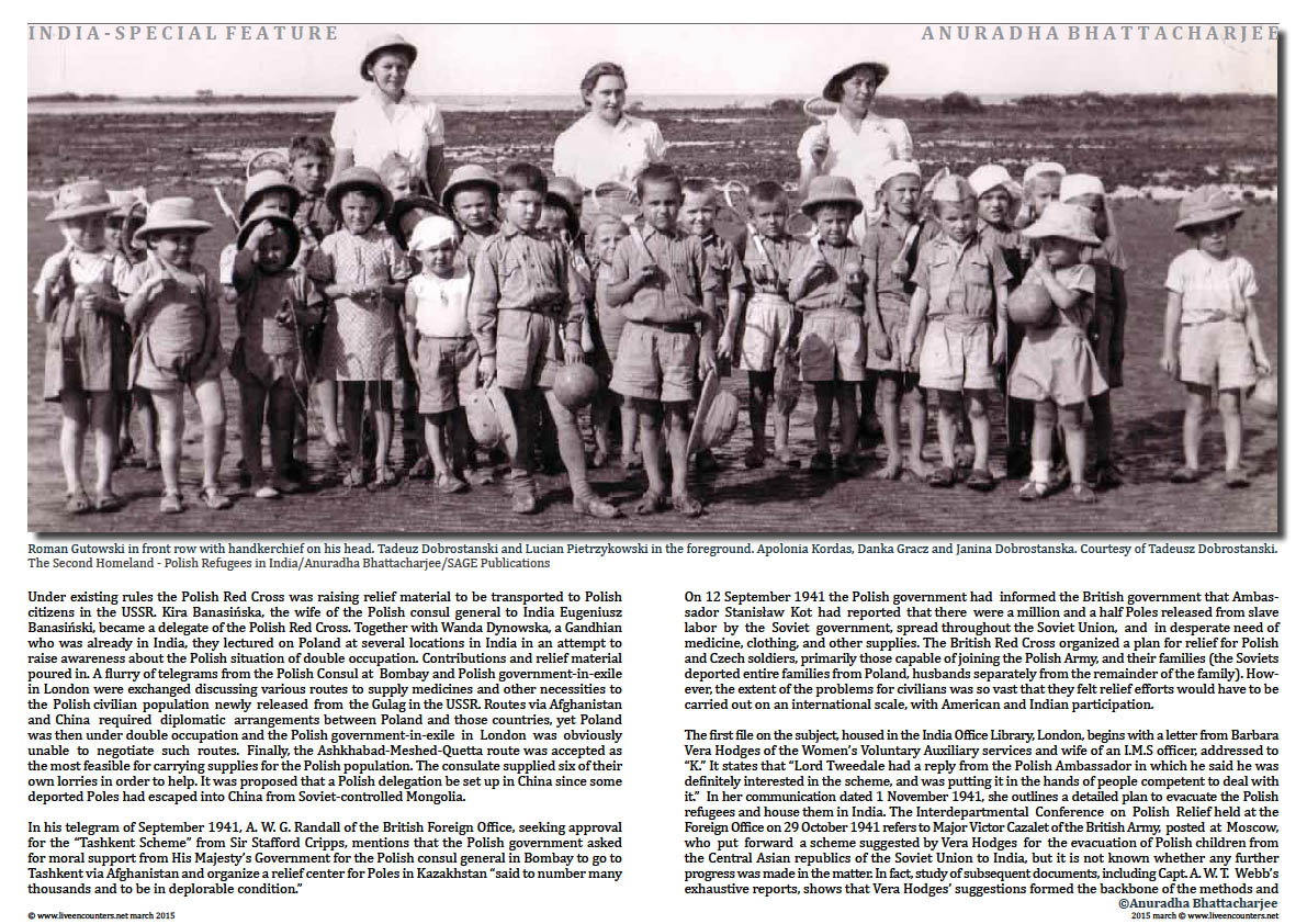 Page 4a Dr Anuradha Bhattacharjee Polish refugees in India
