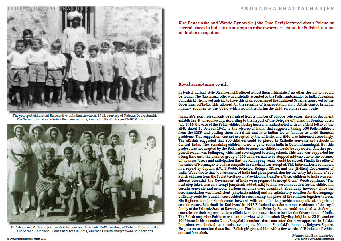 Page 6a Dr Anuradha Bhattacharjee Polish refugees in India