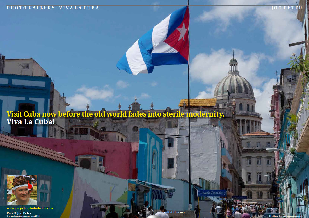 Joo Peter Viva La Cuba Live Encounters Magazine June 2015Page One cuba JP