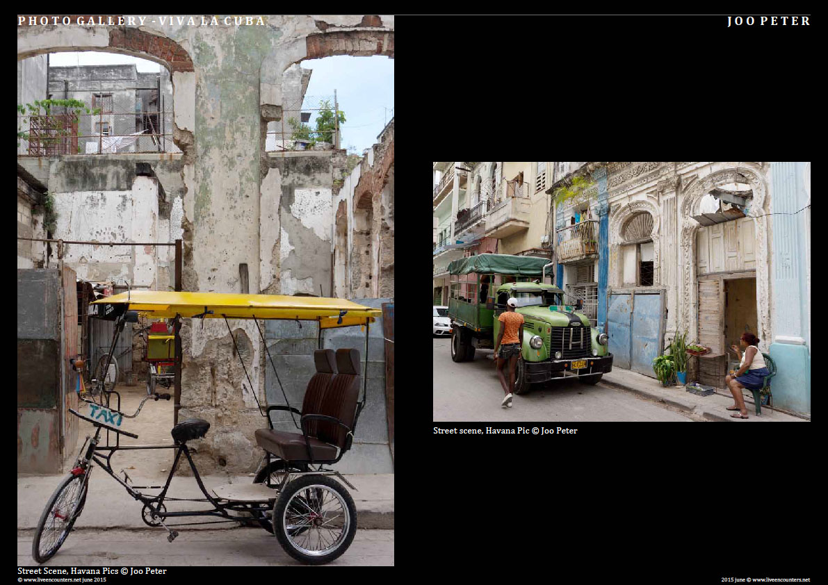 Joo Peter - Viva La Cuba! Live Encounters Magazine June 2015Page Three cuba JP