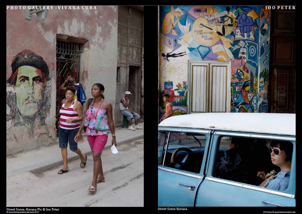 Joo Peter - Viva La Cuba! Page Two cuba JP Live Encounters Magazine June 2015