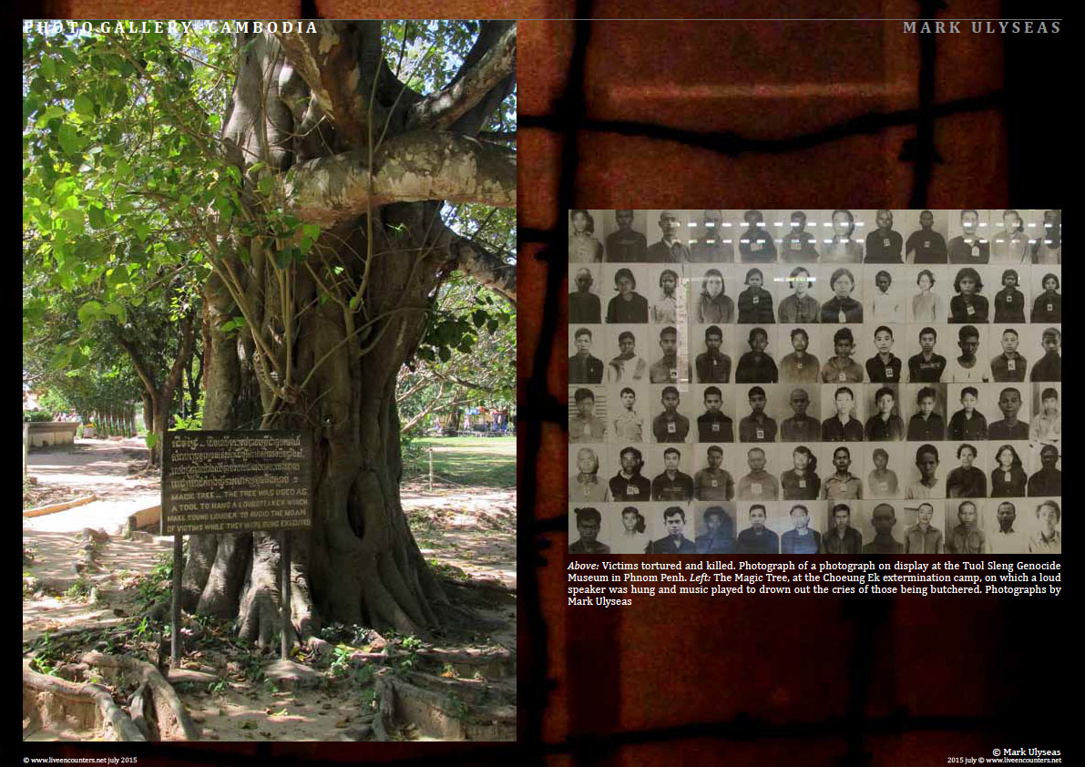 Page Four Remains of the Day - A Lament for the millions butchered by the Khmer Rouge - Photo feature by Mark Ulyseas Live Encounters Magazine July 2015