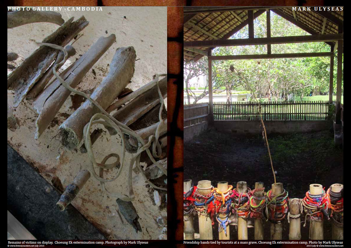 Page Six Remains of the Day - A Lament for the millions butchered by the Khmer Rouge - Photo feature by Mark Ulyseas Live Encounters Magazine July 2015