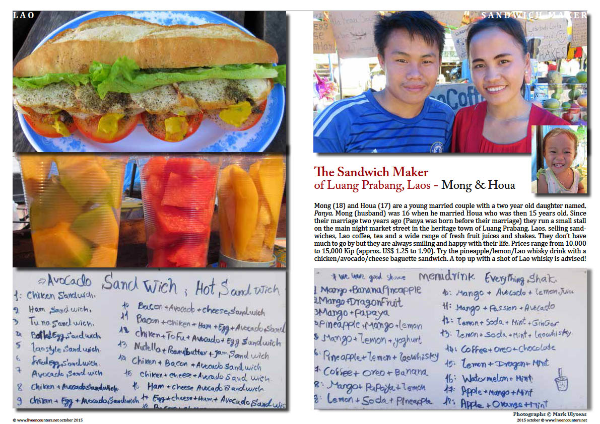 Mong and Houa sanwich maker luang prabang Live Encounters Magazine October 2015