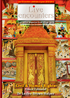 Live Encounters Magazine Civil and Human Rights Volume One December 2015