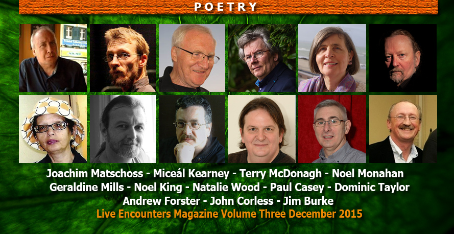 Live Encounters Magazine Poetry Volume Three December 2015