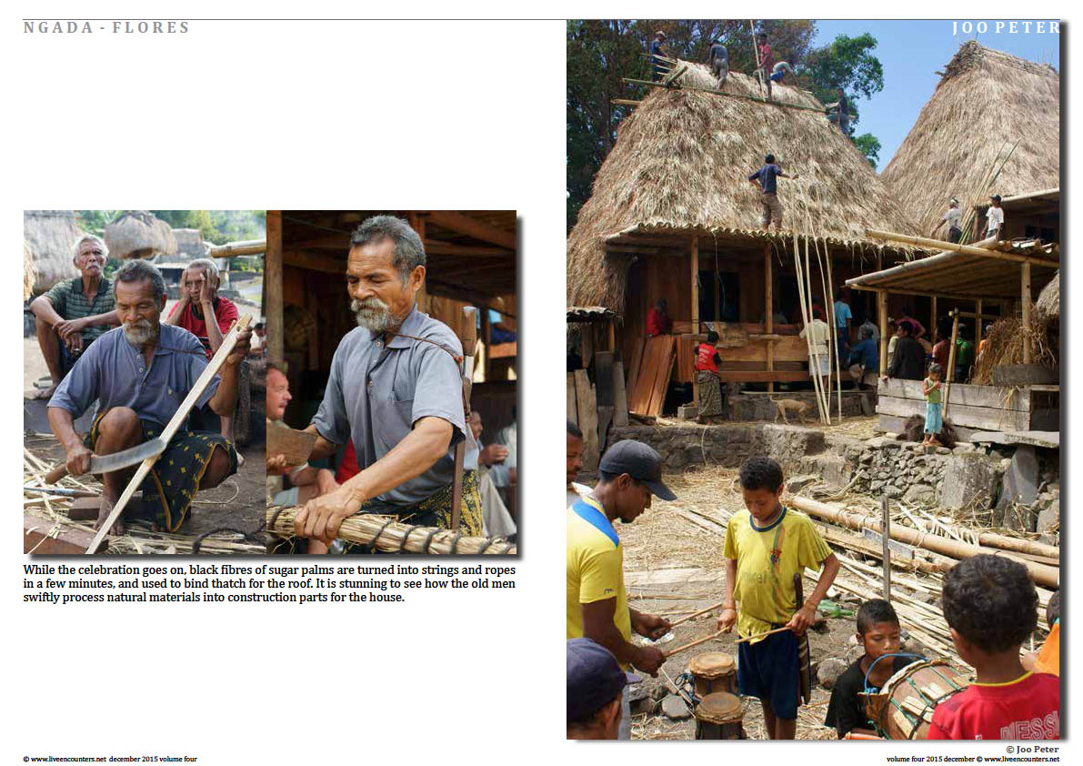 The following photographs guide you through colourful traditions that reflect the cultural diversity of Indonesia.Page 03
