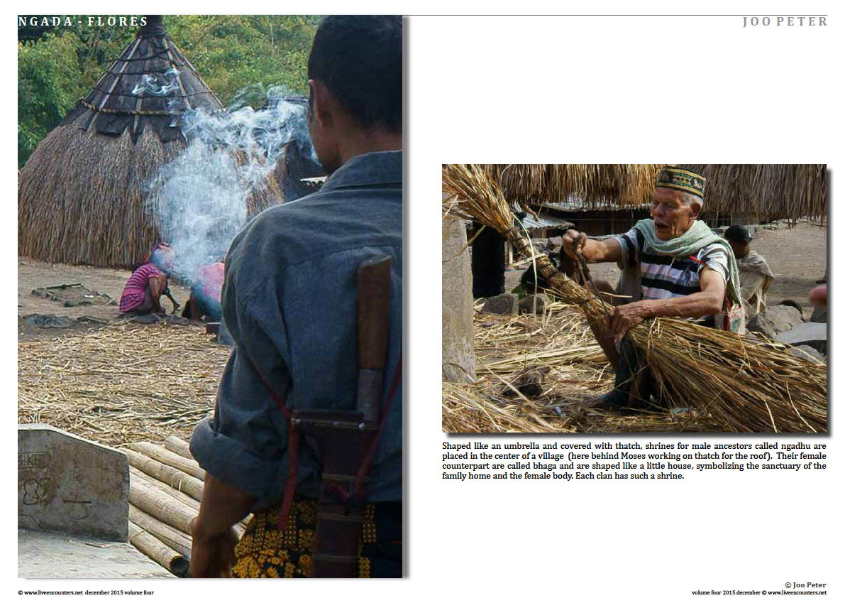 The following photographs guide you through colourful traditions that reflect the cultural diversity of Indonesia.Page 04