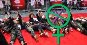 Sisters Un-cut protest