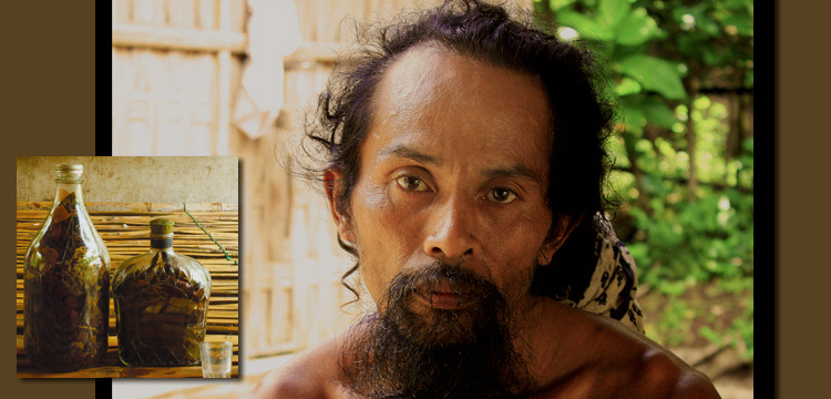Profile of a shaman