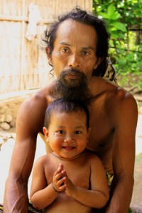 Shaman and his son