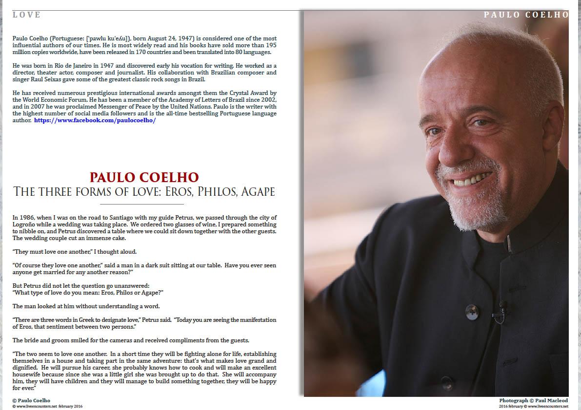 1 Paulo Coelho - The Three Forms of Love