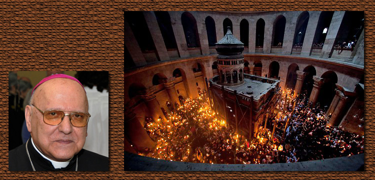 Patriarch Michel Sabbah speaks from Jerusalem to Mark Ulyseas Live Encounters Magazine March 2016