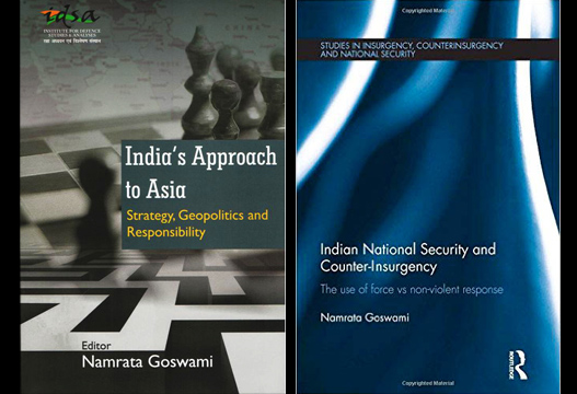Books by Dr Namrata Goswami Live Encounters Magazine April 2016