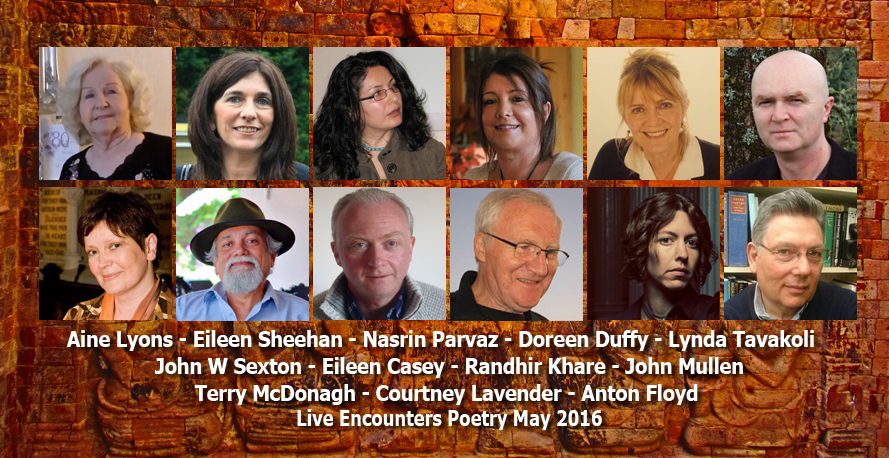 Live Encounters Poetry May 2016