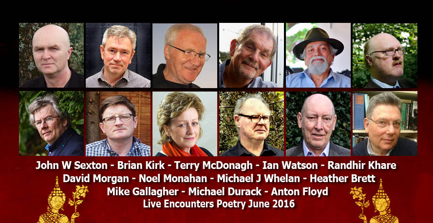 Live Encounters Poetry June 2016