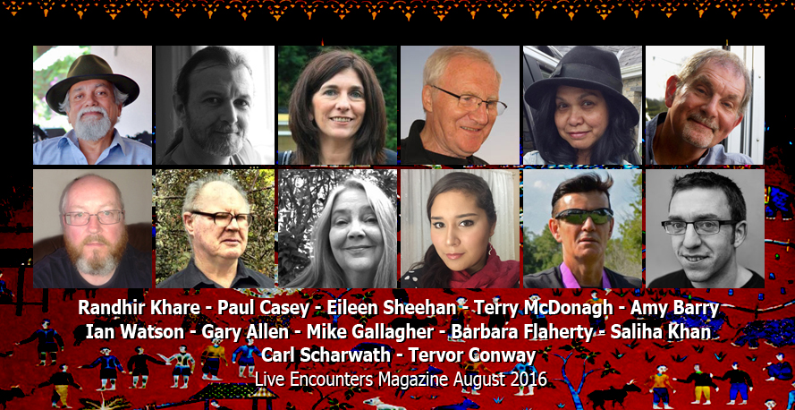 Live Encounters Poetry August 2016