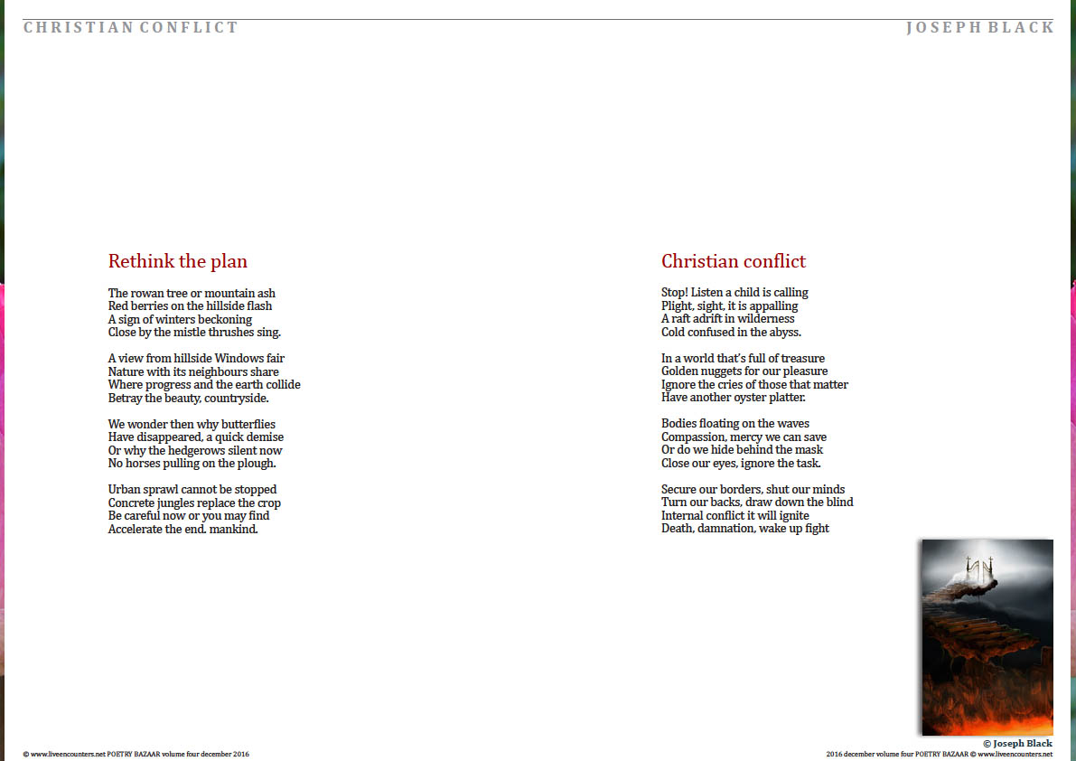 conflict poems
