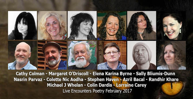 Live Encounters Poetry February 2017s