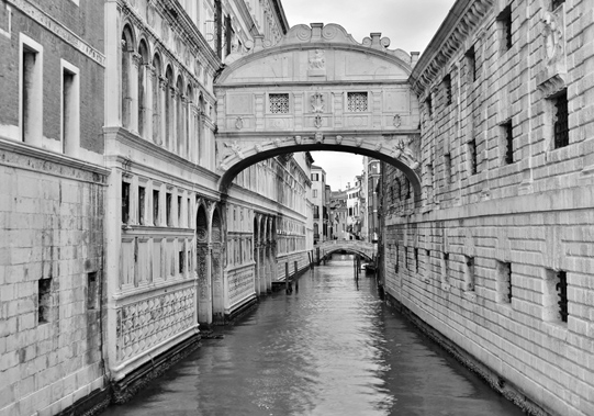 Bridge of Sighs in Venezia. ©  Mikyoung Cha