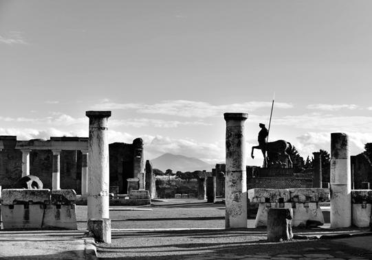 Scavi di Pompeii. © Mikyoung Cha