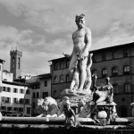 The Fountain of Neptune is a fountain in Florence © Mikyoung Cha