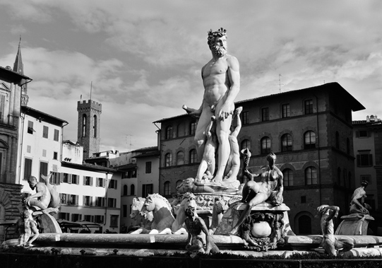 The Fountain of Neptune is a fountain in Florence