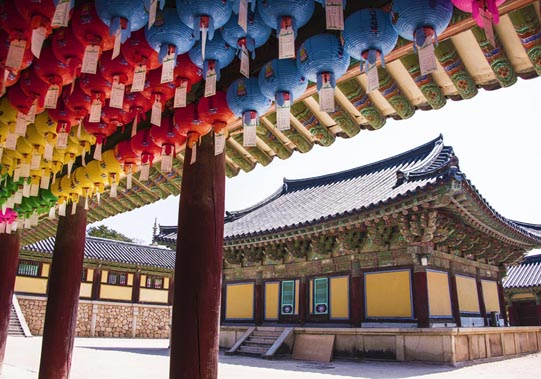 Bulguksa Temple, Geukrakjeon. © Mikyoung Cha